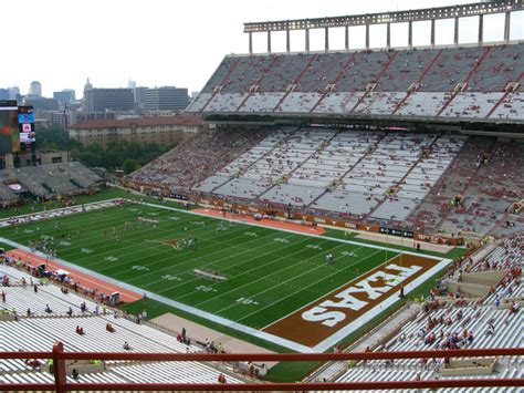 university of texas stadium map darrell k royal memorial stadium united states photos
