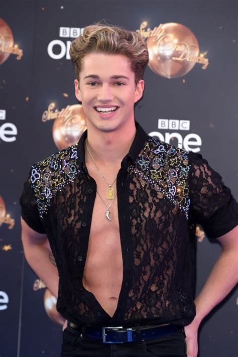define celebrity news strictly come dancing s aj pritchard refuses to define his