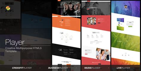 html5 player template player creative multipurpose html5 template