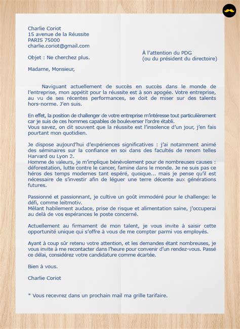 Exemple De Lettre De Motivation Koh Lanta les pires lettres de motivation 2 0 openminded
