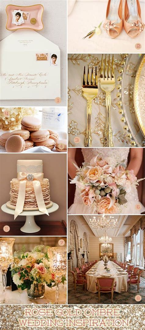 wedding themes with rose gold pin by chelsea james on gold wedding pinterest