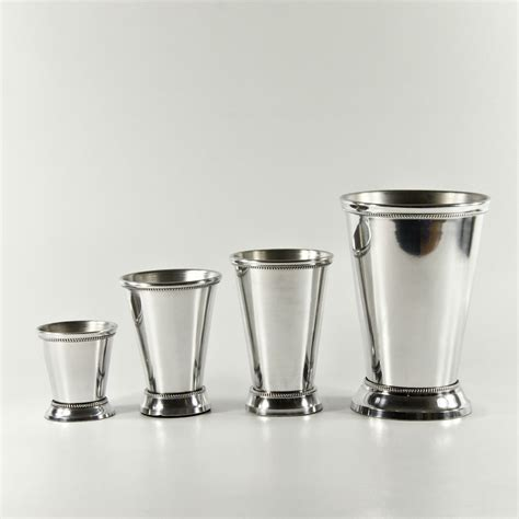 Large Silver Vases Wholesale by Silver Aluminum Mint Julep Cups 5x3 75 Wholesale Flowers