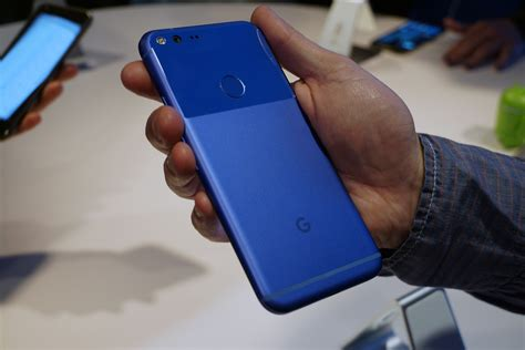 Hands On With Pixel The Most Googley Android Phone Ever Greenbot | hands on with pixel the most googley android phone ever