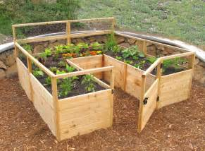 raised vegetable garden kits cedar complete raised garden bed kit 8 x 8 x 20