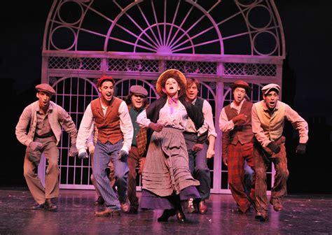 my musical my fair at paramount theatre theatre reviews