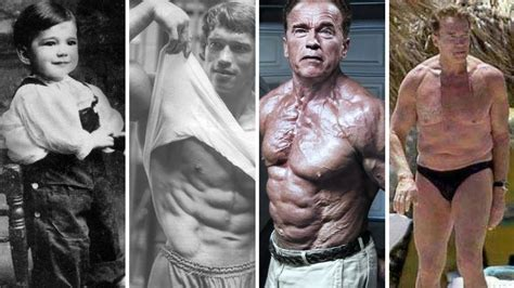 arnold schwarzenegger 41 years later then now arnold schwarzenegger 1947 2017 arnold schwarzenegger