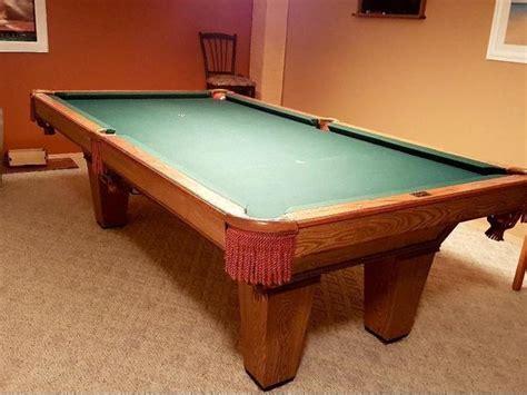brunswick 3 slate pool table brunswick slate pool table price reduced