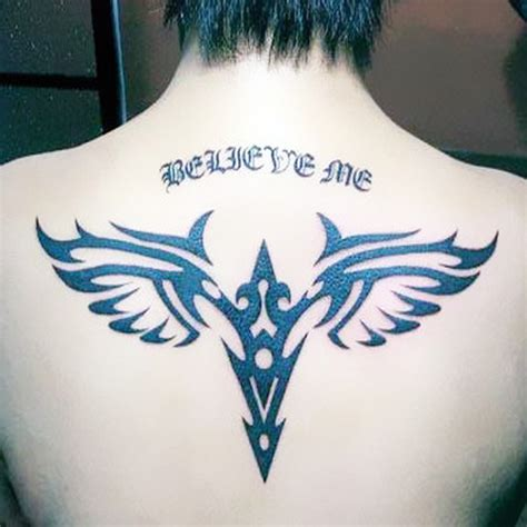 tattoo of us real or fake temporary tattoos back large wings fake transfer spray