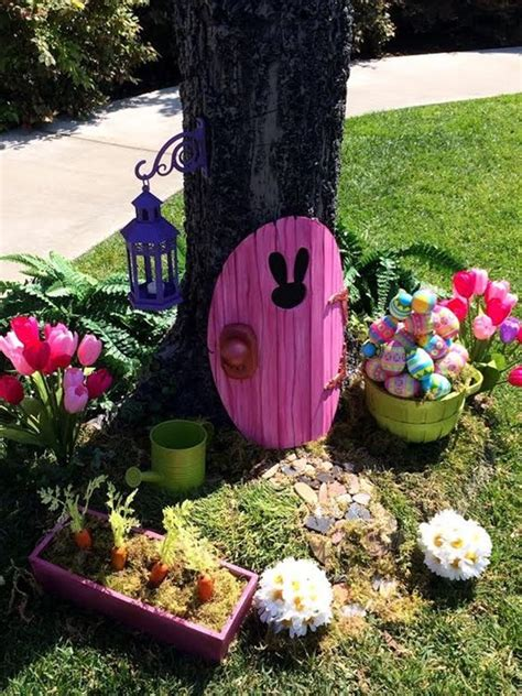 Easter Backyard Decorations by 40 Outdoor Easter Decorations Ideas To Make