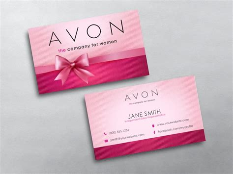 Avon Business Cards Templates Downloads by Avon Business Cards Free Shipping