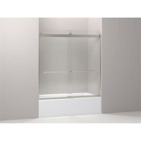 Kohler Levity 59 In X 62 In Semi Frameless Sliding Semi Frameless Sliding Shower Door
