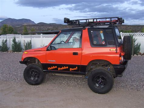 chevy tracker off road chevy tracker off road 92gtzred s 1992 chevrolet tracker