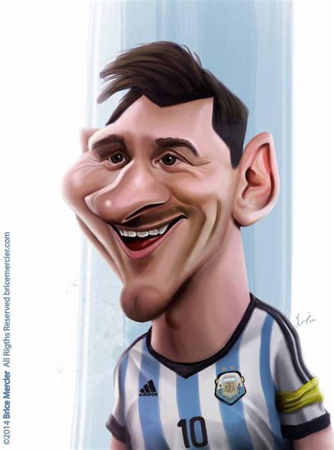 imagenes comicas de jugadores de futbol lionel messi caricaturas pinterest caricaturas