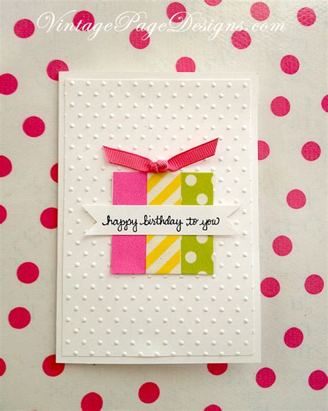 Simple Handmade Birthday Cards - handmade birthday cards on masculine cards