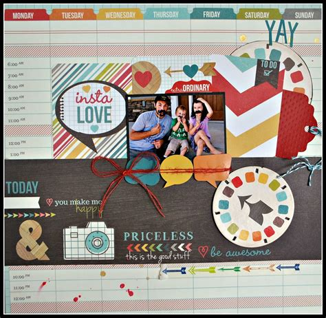 google layout scrapbook simple stories daily grind layouts google search