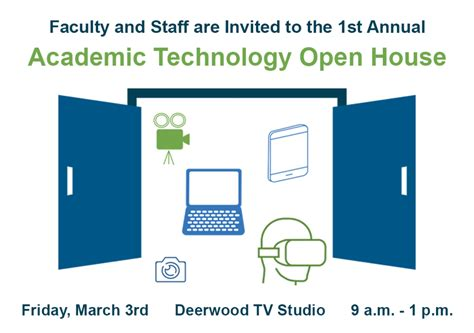 Tech Mba Open House by Academic Technology Open House Academic Technology
