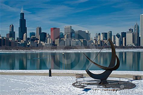 fotos chicago invierno invierno de chicago im 225 genes de archivo libres de regal 237 as