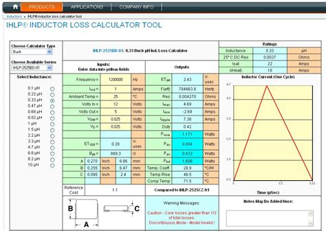 inductance calculator air cored inductor calculator image search results