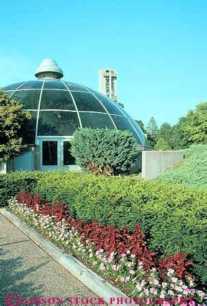 Washington Park Botanical Garden Conservatory In Washington Park Botanical Garden Springfield Illinois Stock Photo 12024