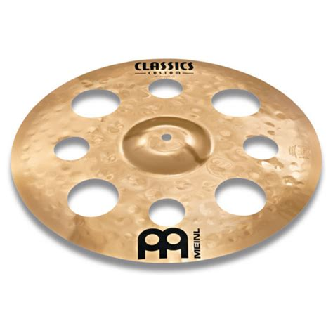 Meinl Cymbal 16 Inch Crash Classic Custom Metal Drum Aksesoris meinl classic custom 16 trash crash cymbal at gear4music