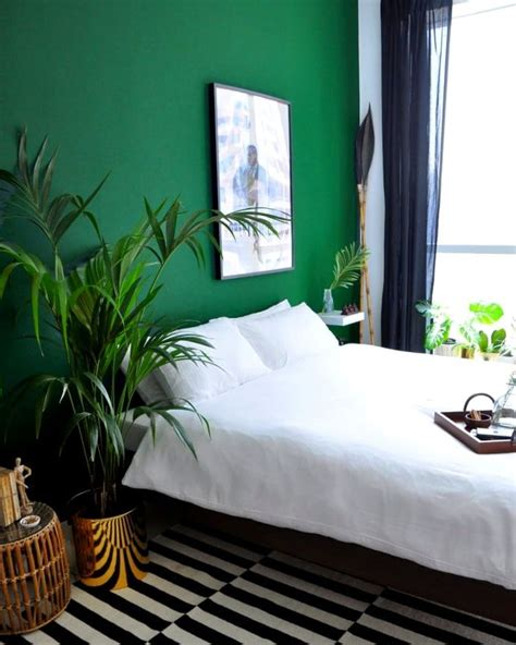 white and green bedroom best 25 green accent walls ideas on green