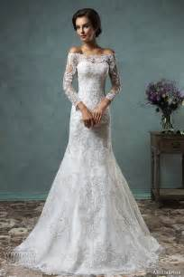 wedding dresses with the shoulder sleeves amelia sposa 2016 wedding dresses volume 2 wedding
