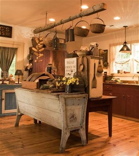 primitive kitchen designs primitive country kitchen ideas for the home pinterest
