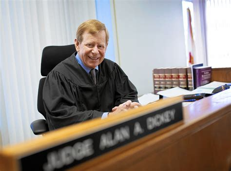 judge on the bench judge alan dickey retiring after 37 years on the bench
