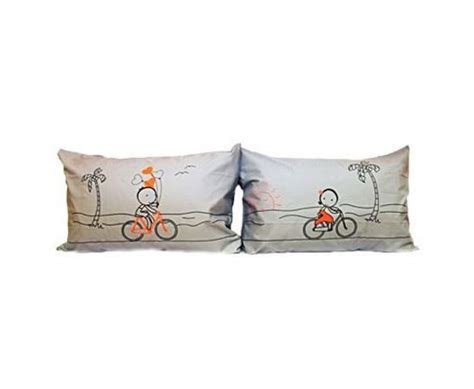 Couples Pillows by Highlight With Pillowcases For Couples