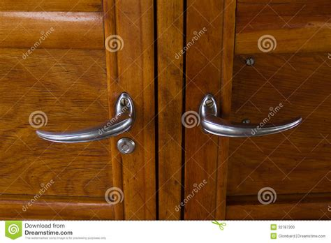 vintage car door handles stock photo image 32787300