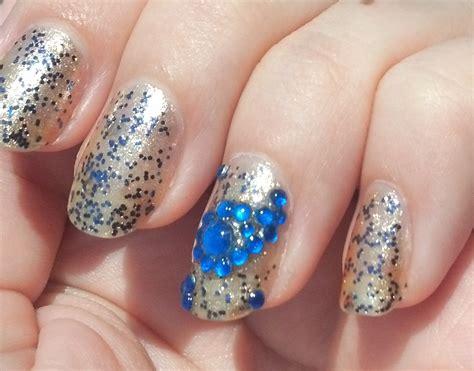 Rhinestone Nail by Rhinestone Nails Ledufa