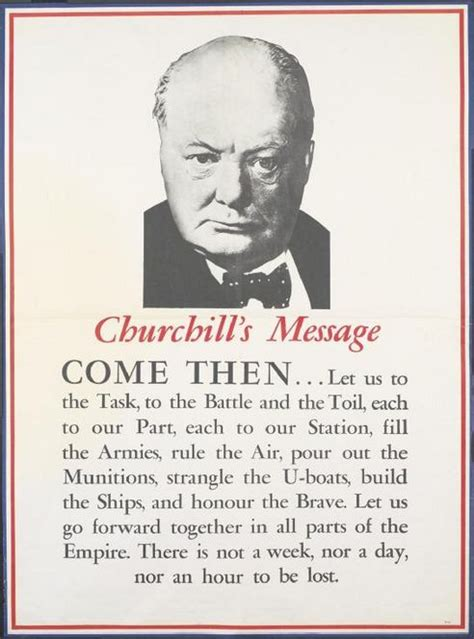 More On Battle Speeches 2 wwii propaganda poster featuring the great