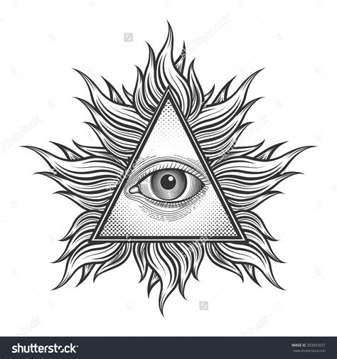 triangle eye tattoo 18 triangle eye designs