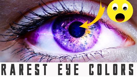 rarest color the most rarest eye color in human unique eye