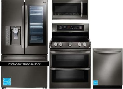 Best Black Stainless Steel Kitchen Packages from LG