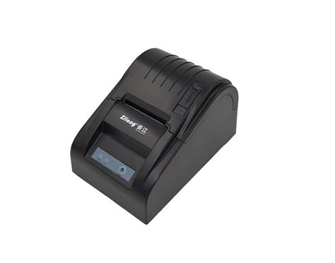Zjiang Pos Thermal Printer 575mm Zj 5890t Black 2010 zj 5890t thermal printer