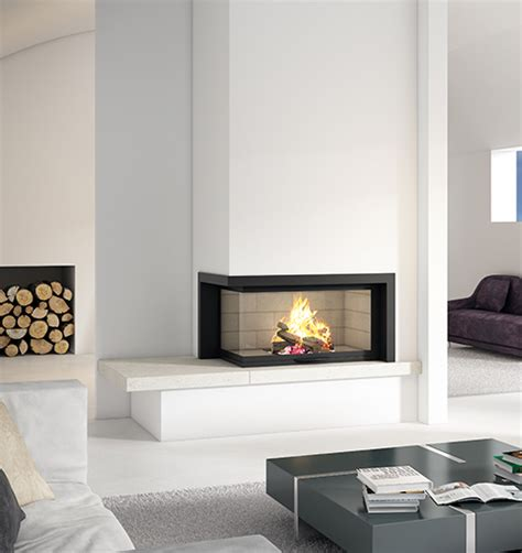 two sided wood fireplace sculpt fireplace collection a new dimension in fireplace