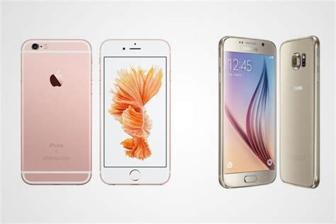 apple iphone 6s vs samsung galaxy s6 sa price specifications showdown