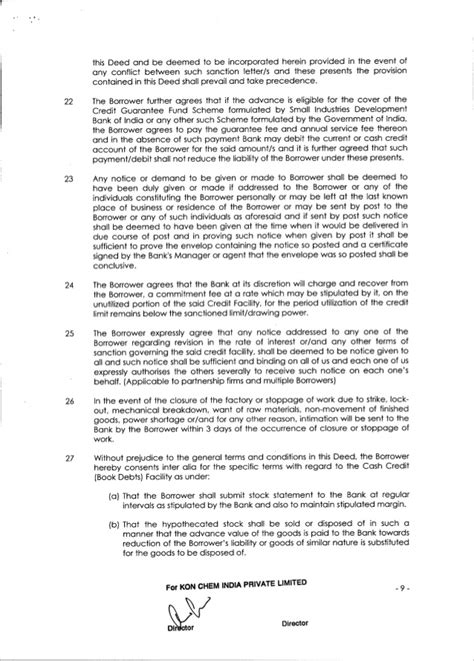 Axis Bank Letter Of Credit Format Axis Bank Loan Agreement