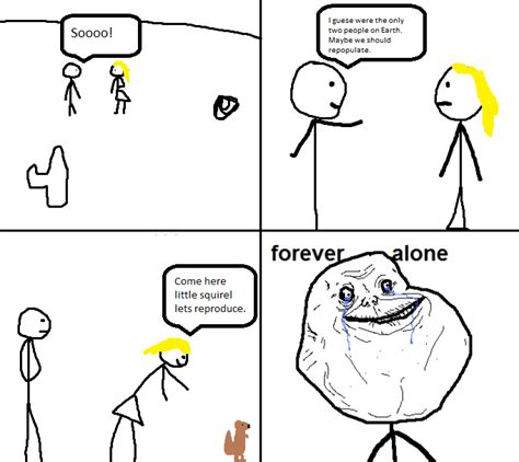 Forever Alone Meme Comics - forever alone comic forever alone know your meme