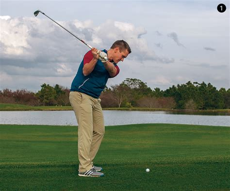 left swing flatten that backswing wrist golf tips magazine