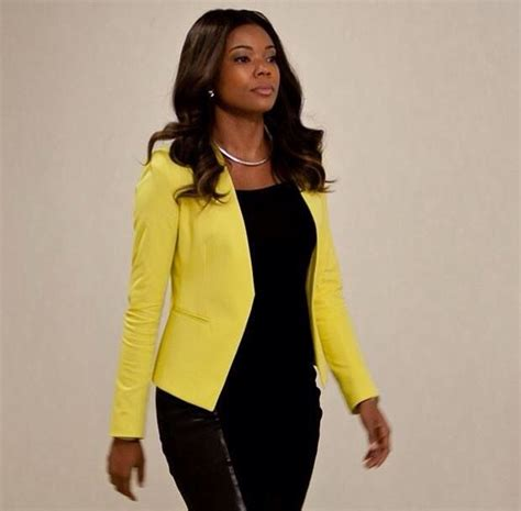Style Gabrielle Union Fabsugar Want Need by 25 Best Ideas About Yellow Blazer On