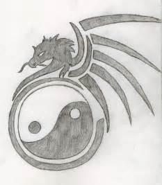 Yin and yang dragon tattoo drawing xxsoulsurvivorxx 169 2015 may 21