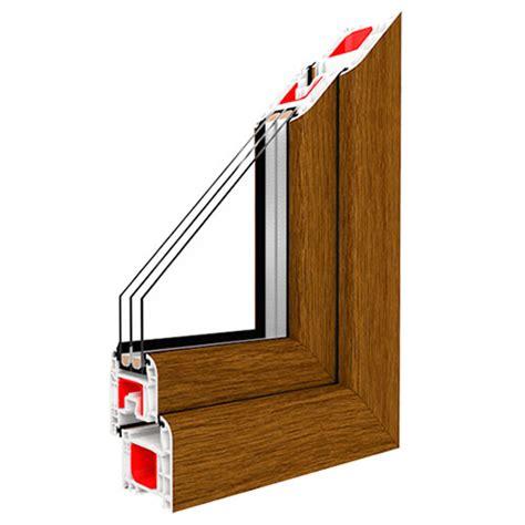 kunststofffenster holzoptik au 223 en und innen unterschiedlicher fensterdekor jetzt ist
