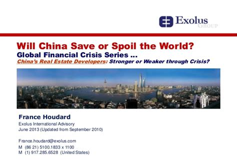 Global Financial Crisis Essay Topics by A Look Back On The Global Financial Crisis S Impact On The China Eco