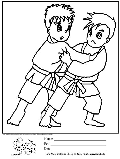 coloring pages karate kid karate coloring pages coloring home
