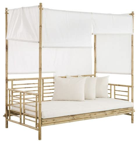 bamboo daybed shop houzz bamboo daybed with canopy daybeds