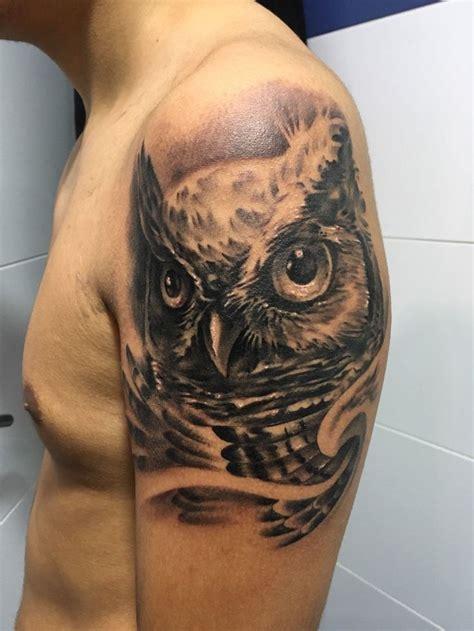 owl tattoo es 17 mejores ideas sobre tatuajes de b 250 ho en pinterest
