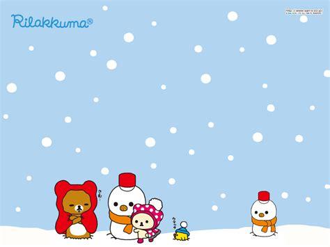 christmas wallpaper kawaii rilakkuma shop free kawaii rilakkuma wallpaper december