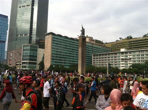 Jakarta Car Free Day sulitnya mencari toilet di arena car free day jakarta